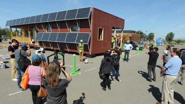 Solar Decathlon 2015 kicks off with 14 teams building high performance homes