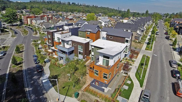 Multifamily development includes Seattle's first net energy positive home