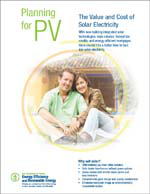 Planning for PV: The Value and Cost of Solar Electricity