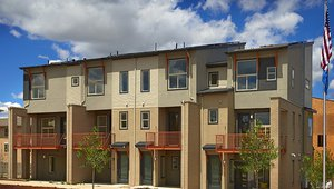 Thrive Home Builders constructed this multifamily building in Denver, Colorado, to the performance criteria of the DOE Energy Zero Energy Ready Home (ZERH) program.