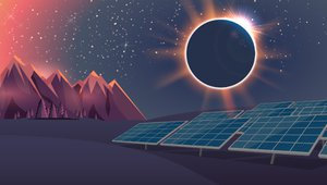 How will eclipse impact power grid?