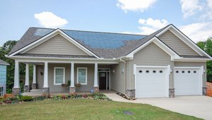 Addison Homes built this 4,551-square-foot home in Greenville, South Carolina, to the performance criteria of the U.S. Department of Energy Zero Energy Ready Home (ZERH) program.