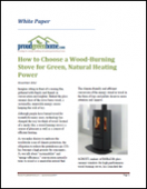 How to Choose a Wood-Burning Stove for Green, Natural Heating Power