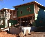 Huber's ZIP System insulates the Proud Green Home at Serenbe