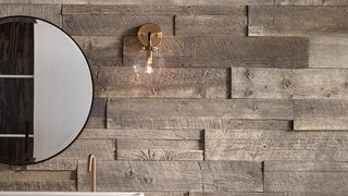 Stone Plank Mimics Vintage Barn Wood | Video