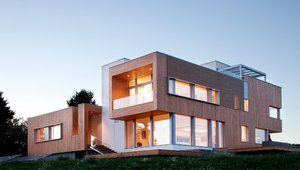 <p>The Karuna House features an airtight, watertight, vapor permeable, and super-insulated wall assembly. The goal is to control energy flow through the building while ensuring durability for the life of the structure by managing heat, air and moisture.</p>