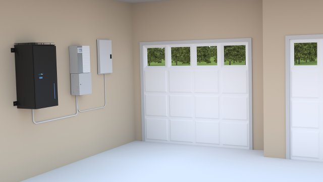 Residential energy storage system installed in California