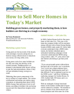 How to Sell More Homes in Today's Market