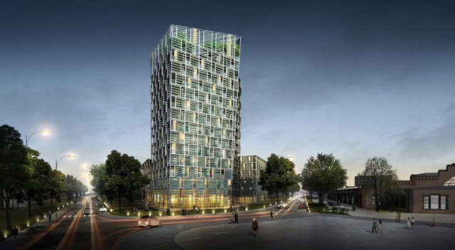 Solar-powered Smart Green Tower to mimic technology of electric cars
