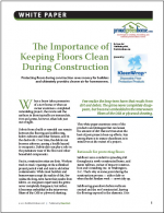 The Importance of Keeping Floors Clean During Construction