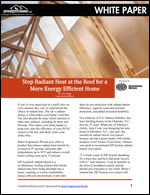 Stop Radiant Heat at the Roof for a More Energy Efficient Home