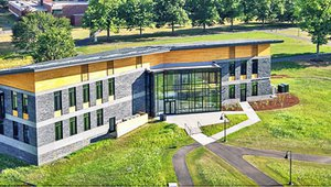 New solar-powered Massachusetts college center epitomizes green building