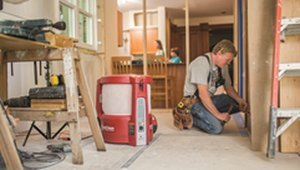 Stop construction dust for better indoor air quality during remodeling