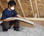 Homeowner happy with choice of cellulose insulation