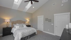 Ceiling fans may make the home feel more comfortable and reduce the need for air conditioning.