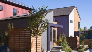 <p>With super-insulated walls and ceilings, high-quality windows, mini-split heat pumps and heat recovery ventilators, these houses will be warm and cozy year-round.</p>