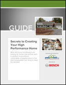 Secrets to Creating Your High Performance Home