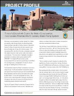 Tempe's Eisendrath Center for Water Conservation Incorporates Patented Re-Circulatory Water Pump System
