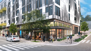 Construction starts for mixed-use green apartment project in Seattle