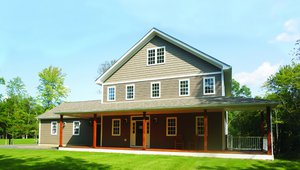Greenhill Contracting built this 3,912-square-foot custom home in Gardiner, New York, to the high performance criteria of the U.S. Department of Energy Zero Energy Ready Home (ZERH) program.
