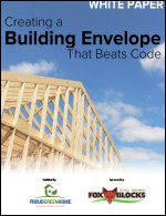 Creating a Building Envelope That Beats Code