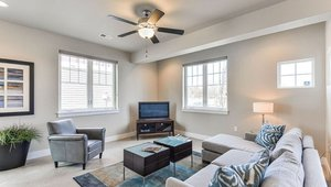 Two ENERGY STAR-rated ceiling fans are installed to help the home feel comfortable while using less air conditioning.