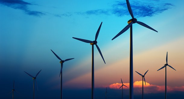 Smart water heaters pair with wind power to manage the power grid