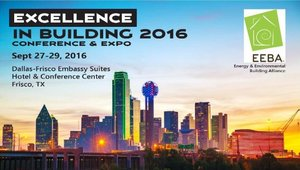 Sign up for EEBA's Excellence in Building Conference & Expo