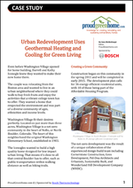Urban Development Uses Geothermal Heating and Cooling for Green Living