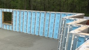 Precast basement walls have insulation built right into them and come with a lifetime structural and moisture infiltration warranty.