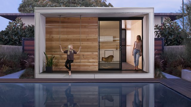 Factory Panelized Tiny Home Designed for Add-on in Los Angeles