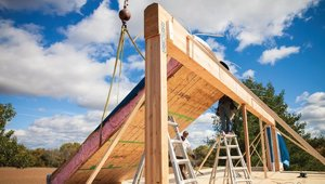 System-built home is aiming for Passive House certification