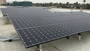 Affordable housing complex earns LEED with solar power and water heating