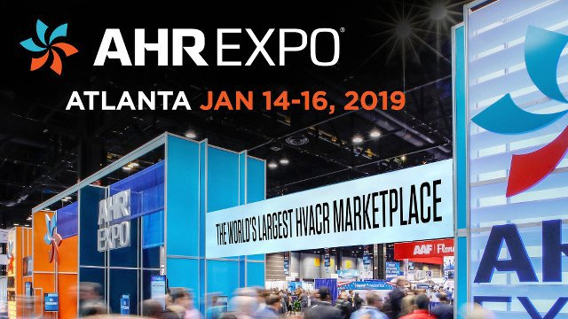 Save the date for the 2019 AHR Expo in Atlanta