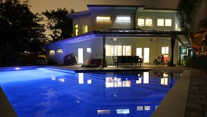 Florida LEED Platinum Home features impact resistant windows and doors