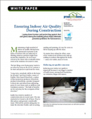Ensuring Indoor Air Quality During Construction