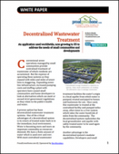 Decentralized Wastewater Treatment: A Proven Option for Small Communities