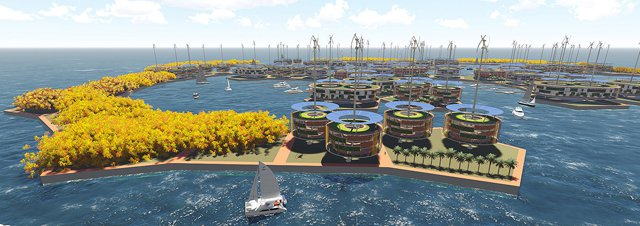 World's first floating city could restore the environment