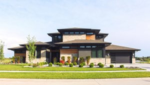 Charles Thomas Homes built this 4,556-square-foot custom home in Valley, Nebraska, to the high performance criteria of the U.S. Department of Energy Zero Energy Ready Home (ZERH) program.