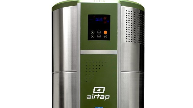 Heat Pump Water Heater Ready For Large Households In Cold