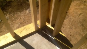Corner framing is placed in a way that keeps the corner accessible for insulation as part of a continuous thermal blanket for the house.