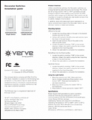 Verve Decorator Switches