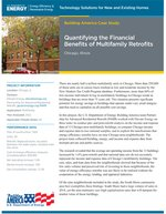 Quantifying the financial benefits of multifamily retrofits