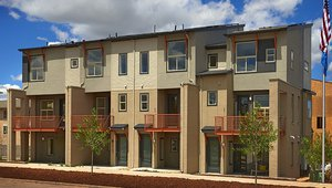 Great Green Home | Row Homes at RidgeGate by Thrive Home Builders