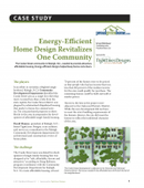 Energy-Efficient Home Design Revitalizes One Community