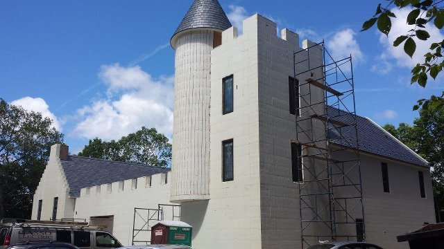 ICFs form walls of a new Scottish castle | Proud Green Home Icf Castle Home Plan on wood castle plans, ancient castle floor plans, scottish castle floor plans, castle house plans, concrete castle plans, log castle plans, scottish mansion house plans,