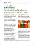 Canning Brings Wholesome Sustainability to Your Table