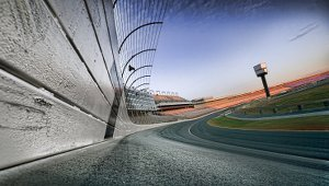 NASCAR race track goes solar powered