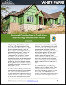 Structured Plumbing Used in Proud Green Home's Energy Efficient Home Project