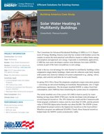 Solar water heating helping Mass. multifamily buildings save energy